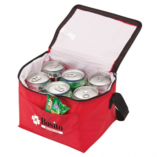 Custom Logo 6-Can Cooler