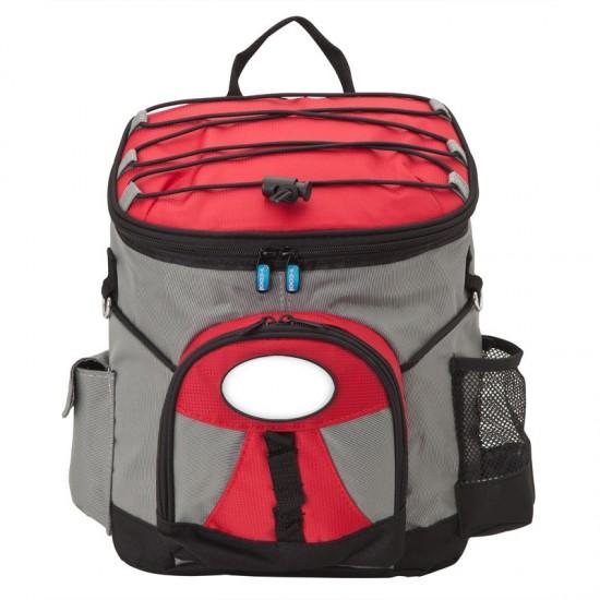 Custom Logo I-Cool PEVA Lined Backpack Cooler
