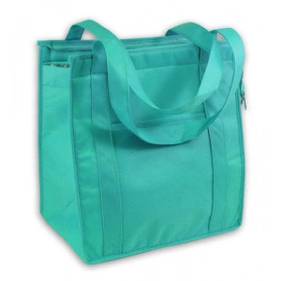 Custom Logo Recyclable Insulated Non-Woven Grocery Tote Bag