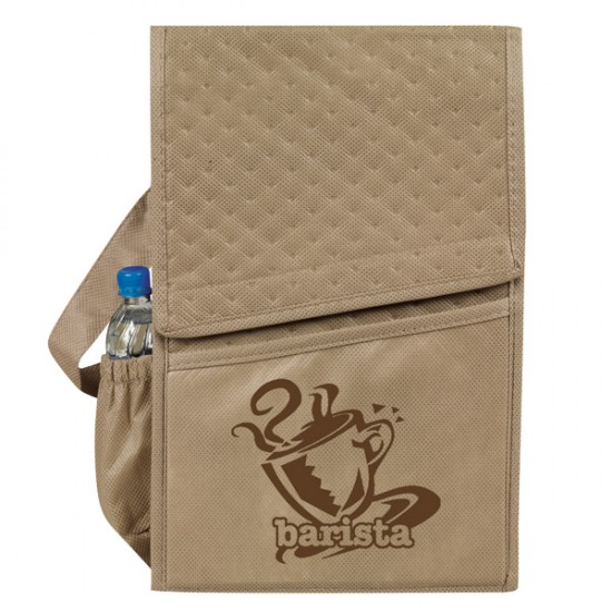 "Custom Logo ""eGreen"" Thermal Lunch Bag"