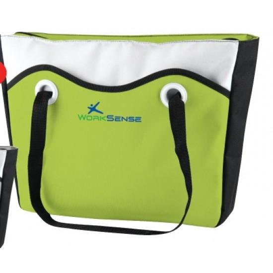 Custom Logo Color Me Travel Cooler Tote Bag